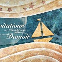 Invitation batême