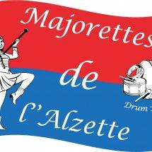 Logo Majorettes de l'Alzette